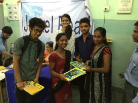 Dia Foundation and JewelRead Book Donation