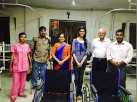 Hospital Wheelchair Donation  Devnar, Maharashtra