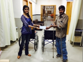 Wheelchair Donation at Women & Children's Hospital